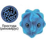 "Giant Microbes Плюшевая ""Простуда"" (риновирус) /Код GM008"