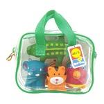 """Набор игрушек для ванной """"Джунгли"""" в сумке"""