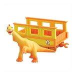 """Игровой набор """"Поезд Динозавров. Нэд"""" с вагончиком"""