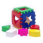 """Развивающая игрушка """"Логический кубик"""", малый"""