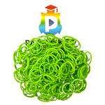 Комплект дополнительных резиночек №27 (цвет травяной, 300 шт.)