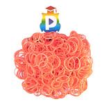 Комплект дополнительных резиночек №39 (цвет коралловый 300 шт.)
