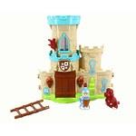 """Игровой набор """"Мой маленький мир"""" замок, аксессуары, фигурки 2 шт, звук, свет"""