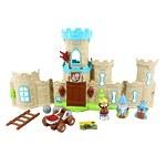 """Игровой набор """"Мой маленький мир"""" замок, аксессуары, фигурки 3 шт, звук, свет"""