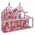 """Игровой набор Красотка """"Замок для кукол с мебелью"""" 187 деталей"""