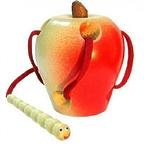 Развивающая игрушка «Шнуровка «Яблоко»