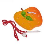 Развивающая игрушка «Шнуровка «Яблоко плоское»