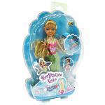 """Кукла Brilliance Fair """"Русалочка"""" с диадемой и подвеской в виде морского конька"""