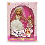 """Набор кукол Brilliance Fair """"Невесты"""" в наборе 2 шт., 26,7 см и 10,2 см"""
