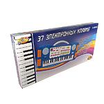 """Музыкальная игрушка """"Синтезатор детcкий"""" 37 клавиш, голубой"""
