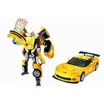 """Игрушка """"Робот-трансформер Chevrolet Corvette C6R"""" свет"""