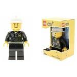 Будильник Lego City, минифигура Fireman (Пожарный)