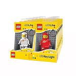 Брелок-фонарик для ключей Lego Classic - Spaceman, в ассортименте красный, белый, синий