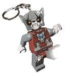 Брелок-фонарик для ключей Lego Legends of Chima - Worriz (Ворриц)