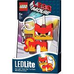 Брелок-фонарик для ключей Lego Movie - Angry Kitty