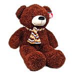 """Мягкая игрушка """"Медведь коричневый с бантом"""", 100 см"""