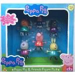 """Игровой набор Peppa Pig """"Пеппа и друзья"""", 6 шт"""
