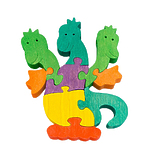 """Развивающая игрушка """"Змей Горыныч"""" с красками"""