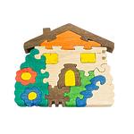 """Развивающая игрушка """"Домик с цветами"""" с красками"""