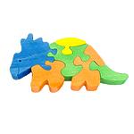 """Развивающая игрушка """"Бронтозавр 2"""" с красками"""