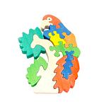 """Развивающая игрушка """"Попугай на ветке"""" с красками"""
