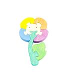 """Развивающая игрушка """"Цветок"""" с красками"""