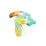 "Развивающая игрушка ""Тукан"" с красками"