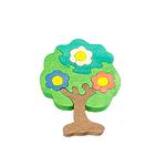 """Развивающая игрушка """"Дерево в цветах"""" с красками"""