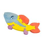 "Развивающая игрушка ""Рыба"" с красками"