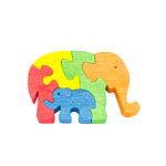 "Развивающая игрушка ""Два слона"" с красками"