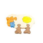 """Развивающая игрушка """"Овечка"""" с красками"""