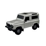 """Радиоуправляемая игрушка """"Машина Land Rover Defender"""" 1:24"""