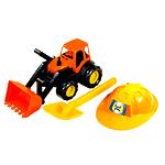 """Автомобиль """"Трактор"""" с каской и лопатой"""